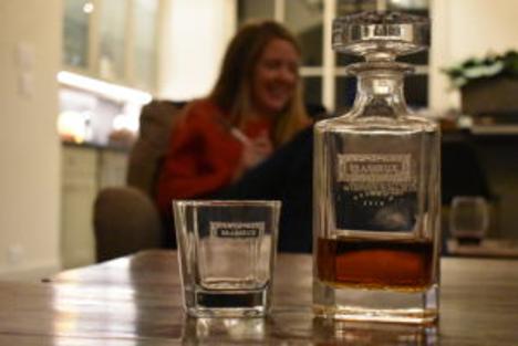 Swanky Badger Whiskey Decanter