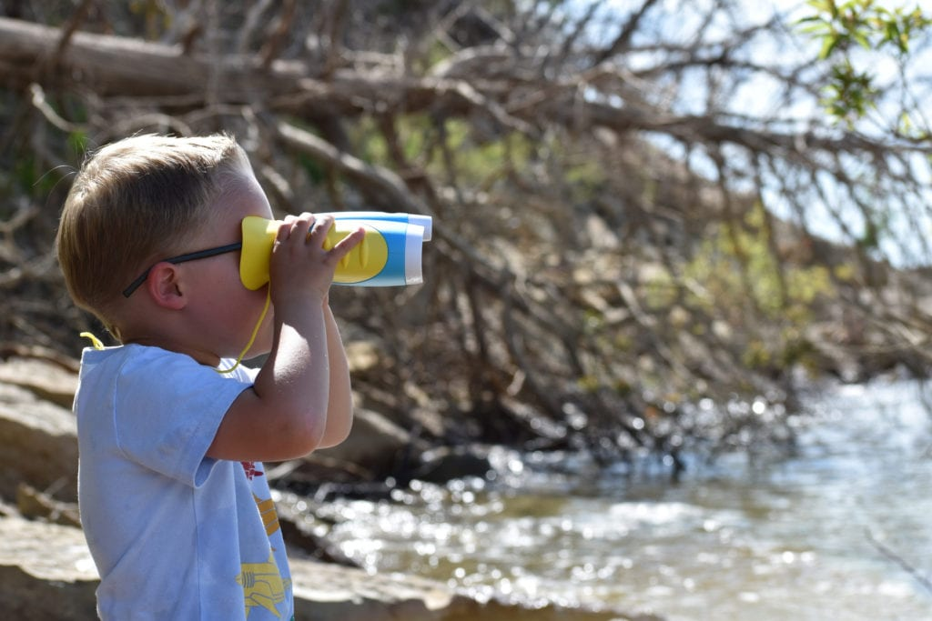 Little Experimenter Night Vision Binoculars for outdoorsy kids